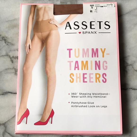 c6b2a712fce ASSETS SPANX Plus Sz 5 Tummy Taming Wt 220 -265 lb